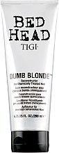 Духи, Парфюмерия, косметика Кондиционер для обесцвеченных и поврежденных волос - Tigi Bed Head Colour Combat Dumb Blonde Conditioner