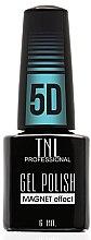 "Парфумерія, косметика Гель-лак для нігтів ""Котяче око 5D"" - TNL Professional Gel Polish Magnet Effect 5D"