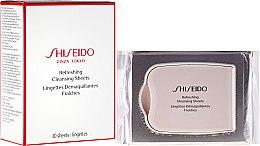 Духи, Парфюмерия, косметика Салфетки для лица освежающие - Shiseido Skincare Global Refreshing Cleansing Sheets
