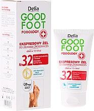 Духи, Парфюмерия, косметика Гель для удаления мозолей - Delia Cosmetics Good Foot Podology Nr 3.2