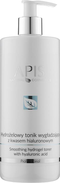 Гидрогелевый тоник с гиалуроновой кислотой - Apis Professional Smoothing Hydro Gel Toner With Hyaluronic Acid