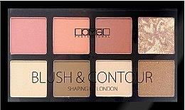 Духи, Парфюмерия, косметика Набор для макияжа - Lamel Professional Blush & Contour Shaping Kit