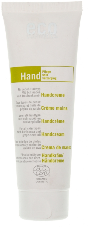 Крем для рук с экстрактом эхинацеи и оливковым маслом - Eco Cosmetics