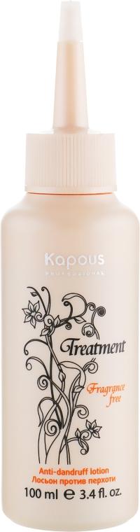 Лосьон против перхоти - Kapous Professional Treatment Anti Dandruff Lotion