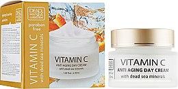 Духи, Парфюмерия, косметика Дневной крем против морщин - Dead Sea Collection Vitamin C Day Cream