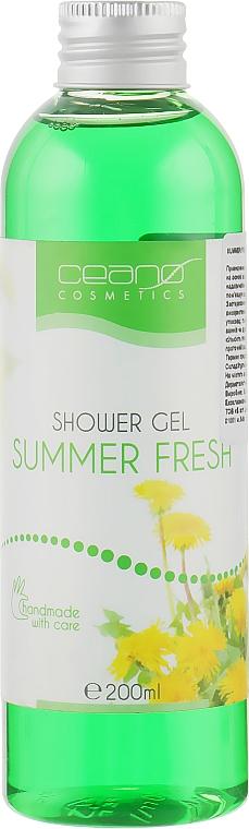 """Гель для душа """"Летняя свежесть"""" - Ceano Cosmetics Shower Gel Summer Fresh"""