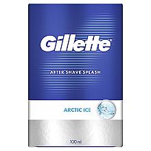Парфумерія, косметика Лосьйон після гоління - Gillette Series Arctic Ice After Shave Splash Bold