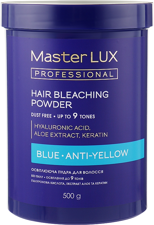 Осветляющая пудра - Master LUX Professional Blue Hair Bleaching Powder