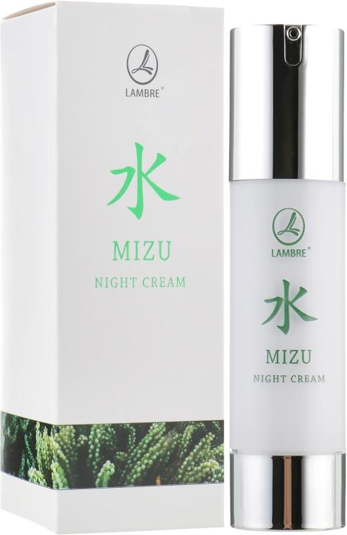 Увлажняющий ночной крем - Lambre Mizu Night Cream