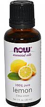 Духи, Парфюмерия, косметика Эфирное масло лимона - Now Foods Essential Oils 100% Pure Lemon