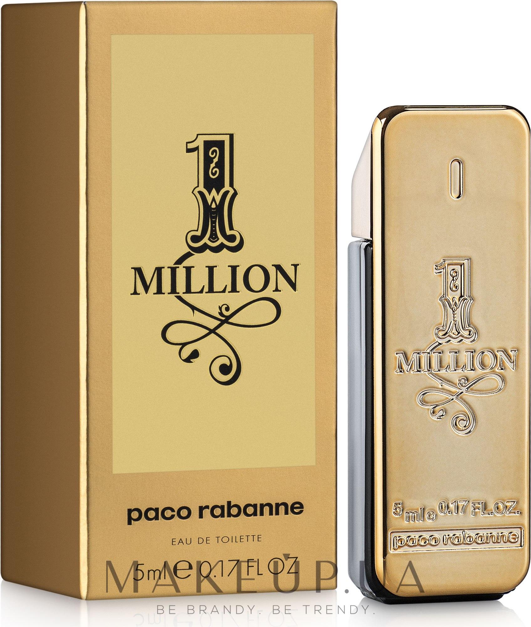 Paco Rabanne 1 Million - Туалетная вода (мини) — фото 5ml