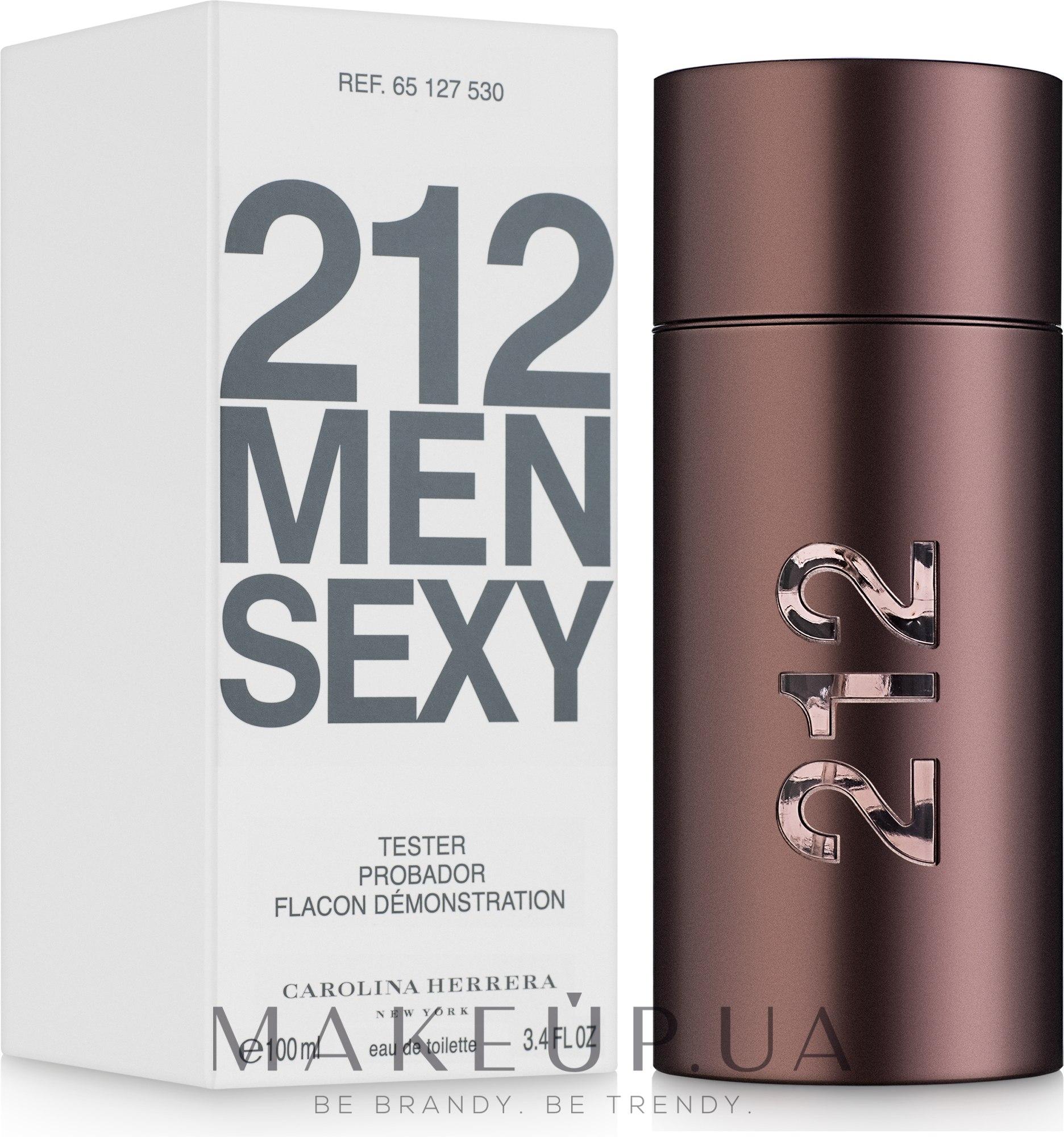 Carolina Herrera 212 Sexy Men - Туалетная вода (тестер с крышечкой) — фото 100ml