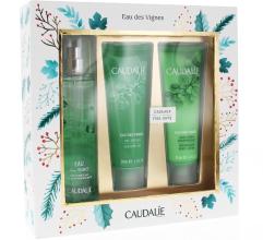 Духи, Парфюмерия, косметика Caudalie Promo Eau des Vignes Fresh Fragrance - Набор (edt/50ml+sh/gel/50ml+b/lot/50ml)