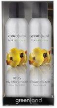"""Духи, Парфюмерия, косметика Набор """"Папайя-лимон"""" - Greenland Fruit Emotions Gift Pack Papaya & Lemon (sh/mous/200ml + b/mous/200ml)"""
