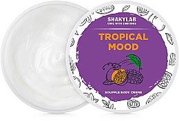 """Духи, Парфюмерия, косметика Крем-суфле для тела """"Tropical Mood"""" - SHAKYLAB Natural Body Cream Tropical Mood"""