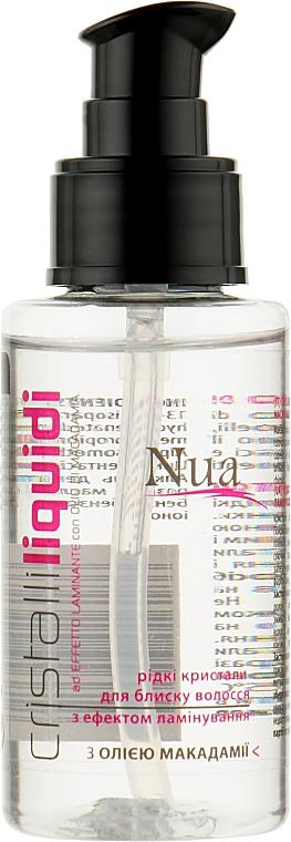Жидкие кристаллы для блеска волос с эффектом ламинирования - Nua Cristalli Liquidi