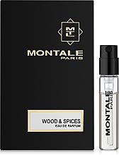 Духи, Парфюмерия, косметика Montale Wood and Spices - Парфюмированная вода (пробник)