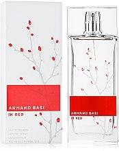 Парфумерія, косметика Armand Basi In Red - Туалетна вода