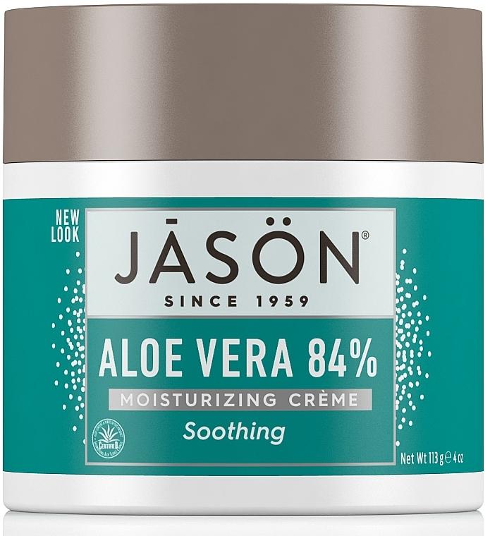 Крем для лица и тела увлажняющий с алоэ вера - Jason Natural Cosmetics Soothing Aloe Vera Moisturizing Crème