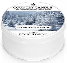Духи, Парфюмерия, косметика Чайная свеча - Country Candle Fresh Aspen Snow Daylight