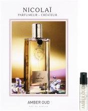 Духи, Парфюмерия, косметика Parfums de Nicolai Amber Oud - Парфюмированная вода (пробник)