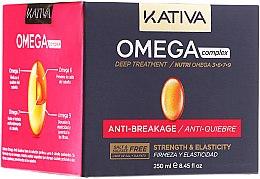 Духи, Парфюмерия, косметика Антистрессовая маска для поврежденных волос - Kativa Omega Complex Deep Treatment Anti-Quiebre
