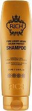 Духи, Парфюмерия, косметика Шампунь для зашиты цвета волос - Rich Pure Luxury Argan Colour Protect Shampoo