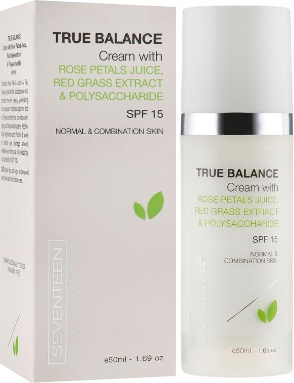 Крем для лица настоящий баланс - Seventeen Skin Perfection True Balance Cream SPF 15