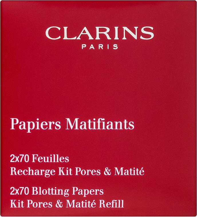Салфетки матирующие - Clarins Pore Perfecting Blotting Paper Refills