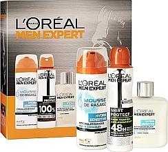 Духи, Парфюмерия, косметика Набор - L'Oréal Paris Men Expert Men Box (deo/150ml + lot/100ml + f/foam/200ml)