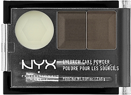 Парфумерія, косметика Тіні для брів - NYX Professional Makeup Eyebrow Cake Powder