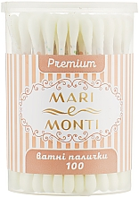 Духи, Парфюмерия, косметика Ватные палочки, желтые - Mari E Monti