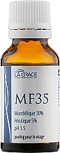 Духи, Парфюмерия, косметика Пилинг миндально-феруловый MF35 - La Grace MF35