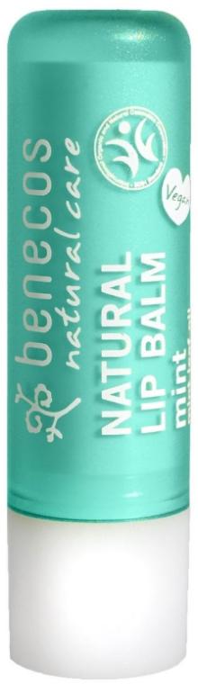 """Бальзам для губ """"Ментол"""" - Benecos Natural Care Lip Balm Mint"""
