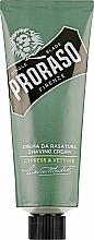 Парфумерія, косметика Крем для гоління - Proraso Cypress & Vetyver Shaving Cream