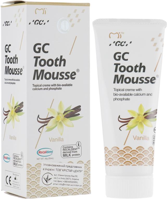 Крем для зубов - GC Tooth Mousse Vannilla