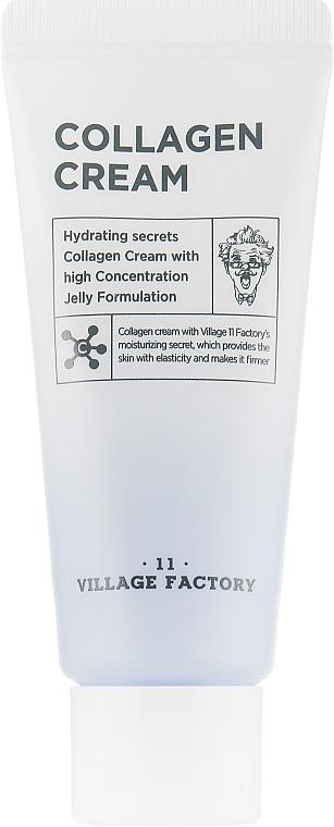Увлажняющий гель-крем для лица - Village 11 Factory Collagen Cream