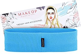 "Духи, Парфюмерия, косметика Повязка на голову, голубая ""Be Beauty"" - Makeup"