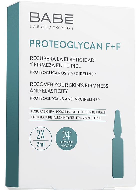 Ампулы-концентрат с выраженным антивозрастным эффектом - Babe Laboratorios Proteoglycan F+F Travel Size