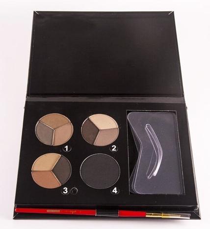 Тени для бровей - Cinecitta Phitomake-Up Professional Eyebrow Kit