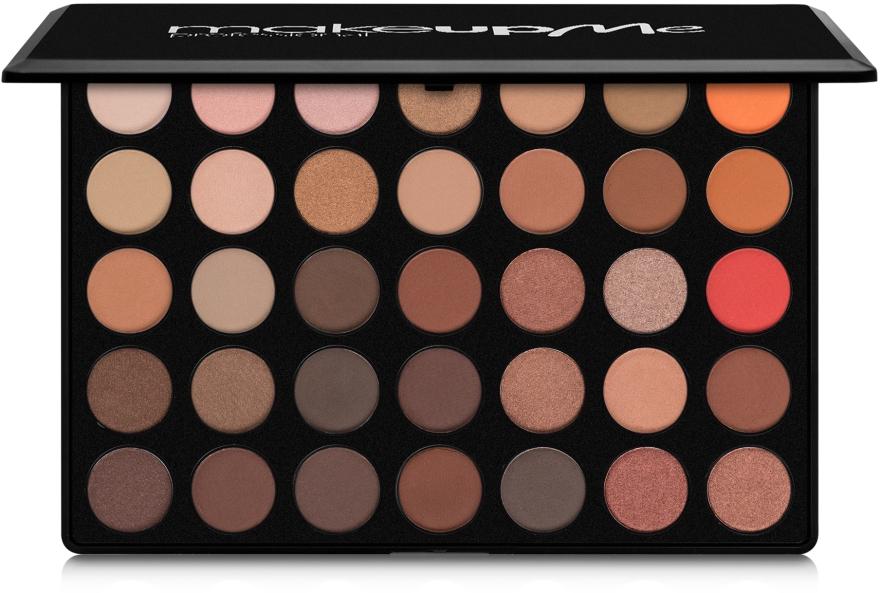 Профессиональная палитра теней 35 цветов, B35 - Make Up Me