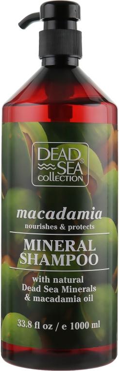 Шампунь с минералами Мертвого моря и маслом макадамии - Dead Sea Collection Macadamia Mineral Shampoo Nourishes & Protect