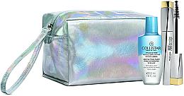 Духи, Парфюмерия, косметика Набор - Collistar Art Design Panoramic Volume Mascara Kit (mascara/12ml + demaq/50ml + bag)