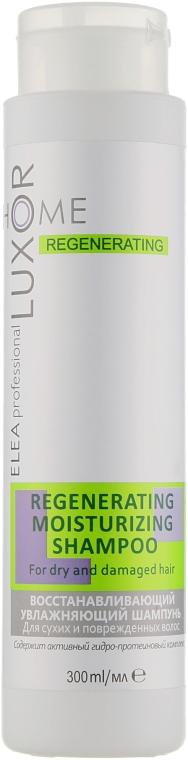 Восстанавливающий увлажняющий шампунь для сухих и поврежденных волос - Elea Professional Luxor Home
