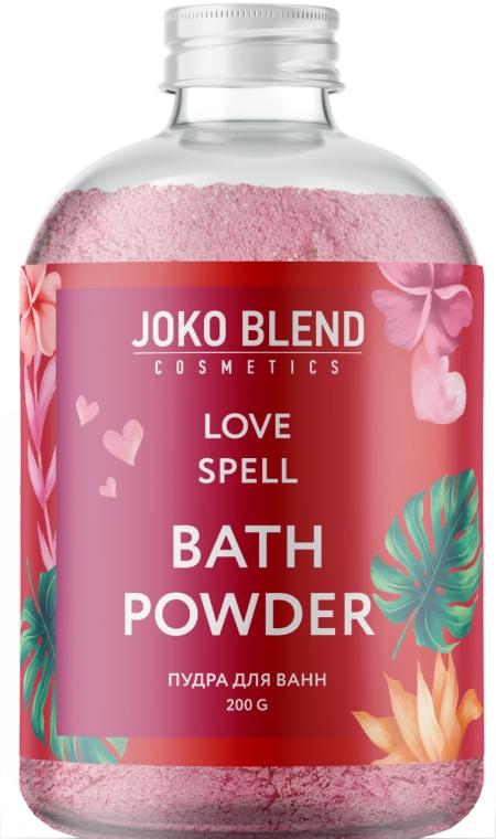 Бурлящая пудра для ванны - Joko Blend Love Spell