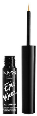 Жидкая подводка для глаз - NYX Professional Makeup Epic Wear Liquid Liner