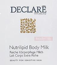 Духи, Парфюмерия, косметика Молочко для тела - Declare Body Care Nutrilipid Body Milk (пробник)