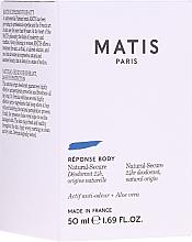 Духи, Парфюмерия, косметика Дезодорант - Matis Reponse Body Deodorant