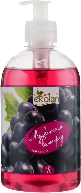 """Жидкое мыло """"Мускатный виноград"""" с дозатором - EkoLan"""