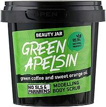 "Духи, Парфюмерия, косметика Скраб для тела моделирующий ""Green Apelsin"" - Beauty Jar Modelling Body Scrub"